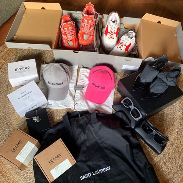 Bóc giá loạt đồ hiệu Kỳ Duyên và Minh Triệu vừa mua sắm ở châu Âu-2