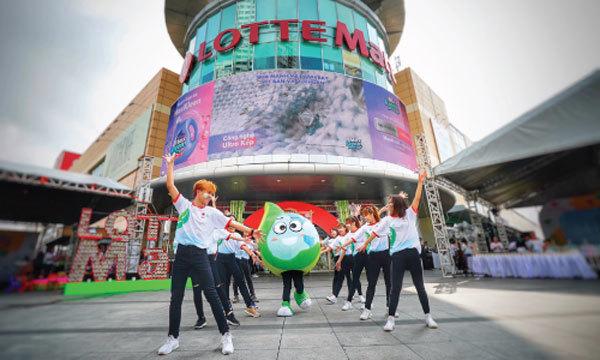 202 thương hiệu cùng Lotte Mart 'cam kết xanh'-1