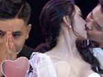 Hoa khôi bị ném đá vì hôn bạn diễn trong show hẹn hò phải đi truyền nước vì quá stress-5