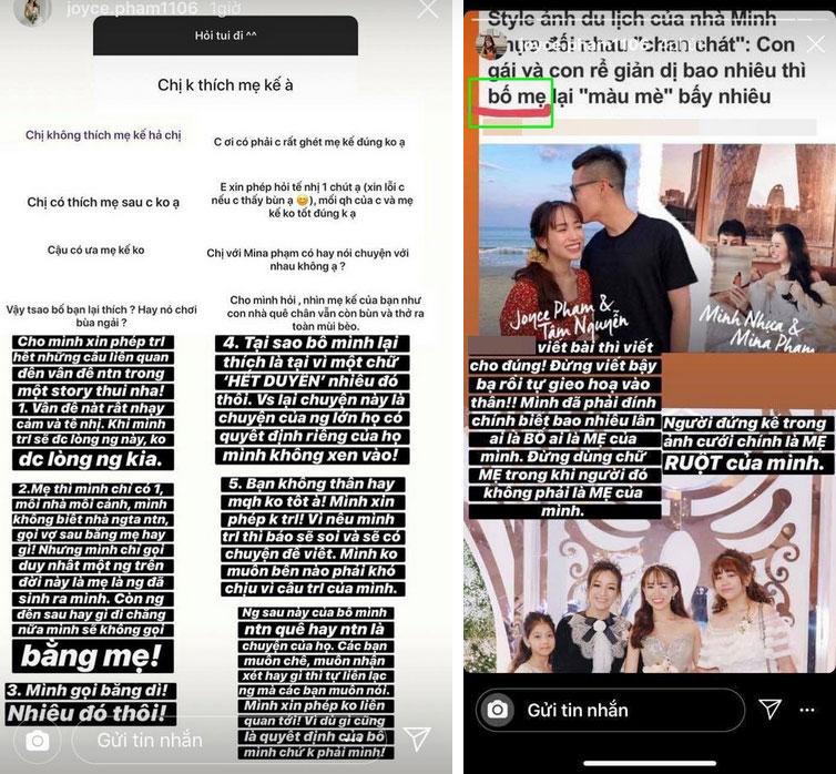 """Giữa lúc con gái Minh Nhựa đưa lý do không gọi là mẹ, Mina Phạm bình thản câm lặng"""" trên trang cá nhân nhưng lại lộng lẫy nơi Facebook của chồng-2"""