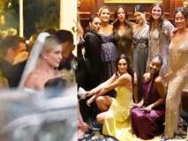 Đám cưới thế kỷ của Justin Bieber: Cô dâu chú rể cuối cùng đã lộ diện, xúc động tuyên thệ