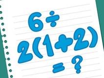 Dân mạng tranh cãi 1 hay 9 là đáp án của bài toán