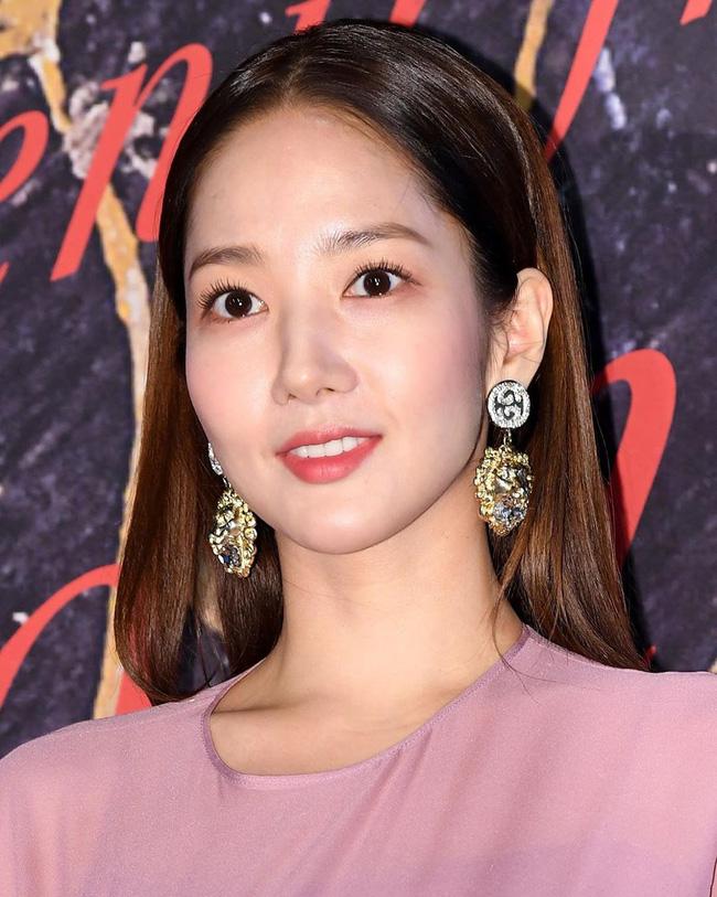 Park Min Young tự tay dìm dáng với đầm bánh bèo màu tím, gương mặt lộ dấu hiệu lão hóa kém sắc giữa dàn mỹ nhân-7