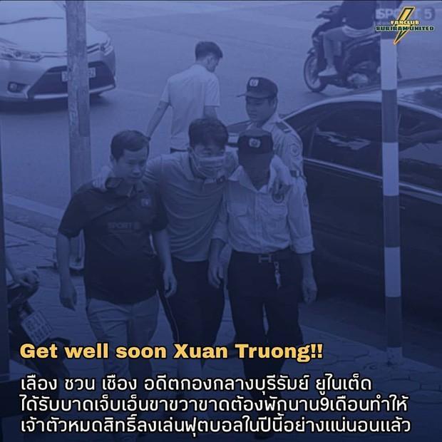 Fan Thái Lan xót xa khi biết tin Xuân Trường chấn thương: Tôi muốn cậu ấy quay lại đây thi đấu, nhưng không được nữa rồi-2