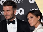 Beckham và các con mặc sành điệu ở show thời trang của vợ-1