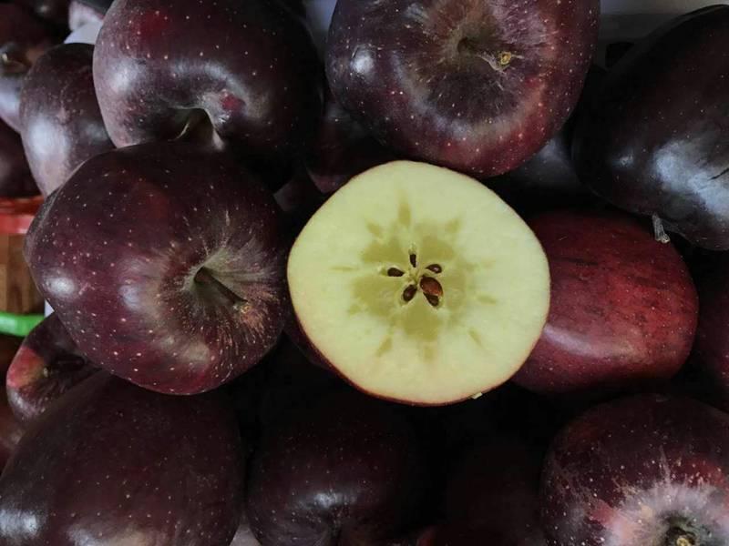 Quả táo đen xì đen xịt độc, lạ, ngon, bổ giá gần nửa triệu mỗi quả-8