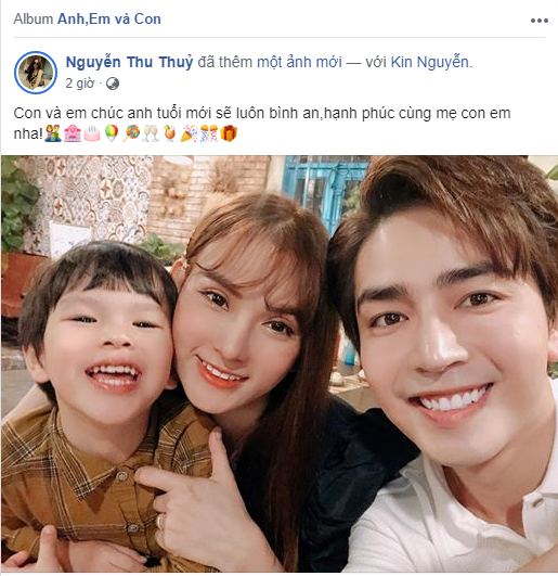 Thu Thủy lại đăng đàn chứng minh gia đình hạnh phúc, bất ngờ nhất là phản ứng của chồng trẻ-2