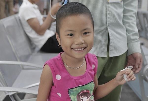 Động lực chữa bệnh đặc biệt của cô bé ung thư máu 6 tuổi-3