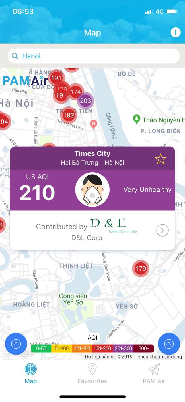 Sau 1 ngày mưa lớn, ô nhiễm ở Hà Nội lại ở mức báo động-2