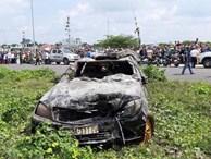 Vụ xe Mercedes lao xuống kênh, 3 người tử vong: Những dấu vết đáng sợ tại hiện trường