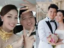 Đám cưới nhà người ta: Cô dâu đeo trên người