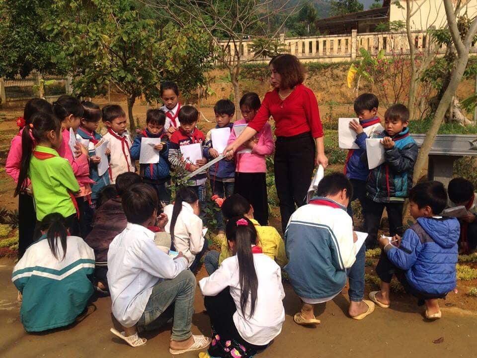 Tiết học ngập sắc vàng khiến trẻ em phố thị khát khao-4