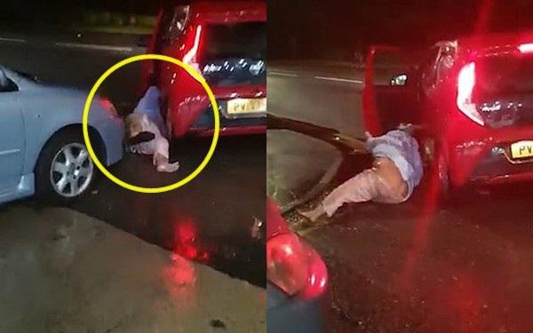 Cảnh tượng gây sốc khi người phụ nữ bị nam tài xế xe ô tô kéo lê trên đường trong cuộc tấn công tàn bạo-1