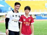 Con trai diễn viên Huy Khánh cao vượt trội, được khen đẹp hơn bố