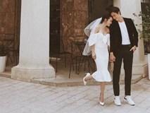 Yến Nhi đăng hình chị gái mặc váy trắng đầu đội voan trắng, nghi vấn Yến Trang chuẩn bị lấy chồng đại gia?