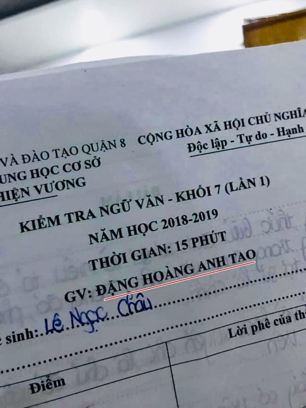 Thầy giáo dạy văn bất ngờ gây bão mạng xã hội với cái tên độc lạ Đặng Hoàng Anh Tao-1
