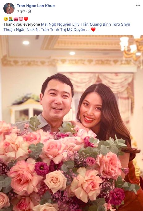 Lan Khuê đăng ảnh hạnh phúc bên ông xã nhân kỷ niệm 1 năm ngày cưới, chứng minh hôn nhân viên mãn hiếm có trong showbiz-1