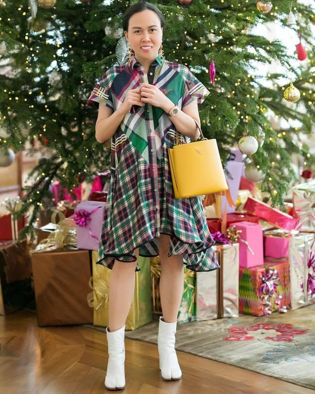 Vung tay mua hàng hiệu không tiếc, Phượng Chanel vẫn mặc lại những bộ cánh sến súa-5