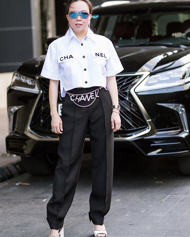 Vung tay mua hàng hiệu không tiếc, Phượng Chanel vẫn mặc lại những bộ cánh sến súa-10