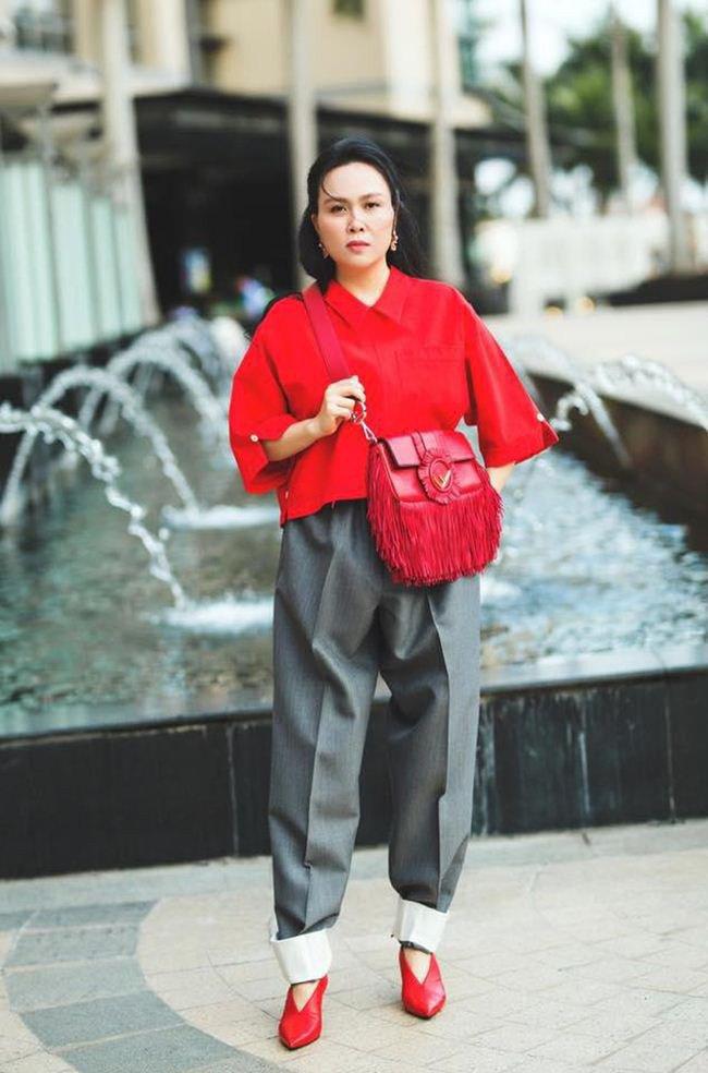 Vung tay mua hàng hiệu không tiếc, Phượng Chanel vẫn mặc lại những bộ cánh sến súa-9