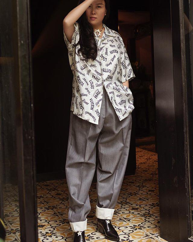 Vung tay mua hàng hiệu không tiếc, Phượng Chanel vẫn mặc lại những bộ cánh sến súa-8
