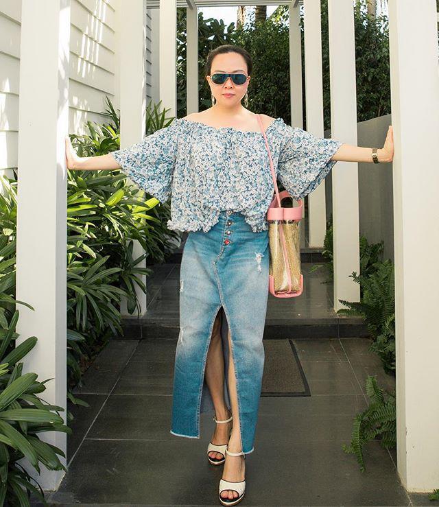 Vung tay mua hàng hiệu không tiếc, Phượng Chanel vẫn mặc lại những bộ cánh sến súa-12