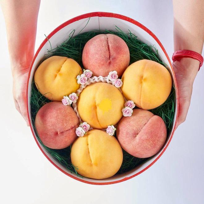 Đào tiên Nhật Bản có giá gần 1 triệu/cặp hút giới nhà giàu Việt-1