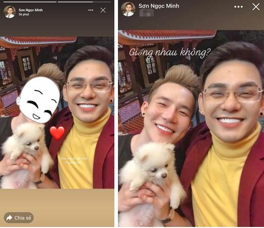 Màn khóa môi đồng giới hot nhất mạng xã hội hôm nay của Sơn Ngọc Minh và bạn trai-3