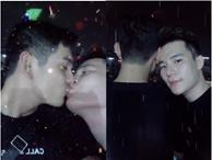 Màn khóa môi đồng giới 'hot' nhất mạng xã hội hôm nay của Sơn Ngọc Minh và bạn trai