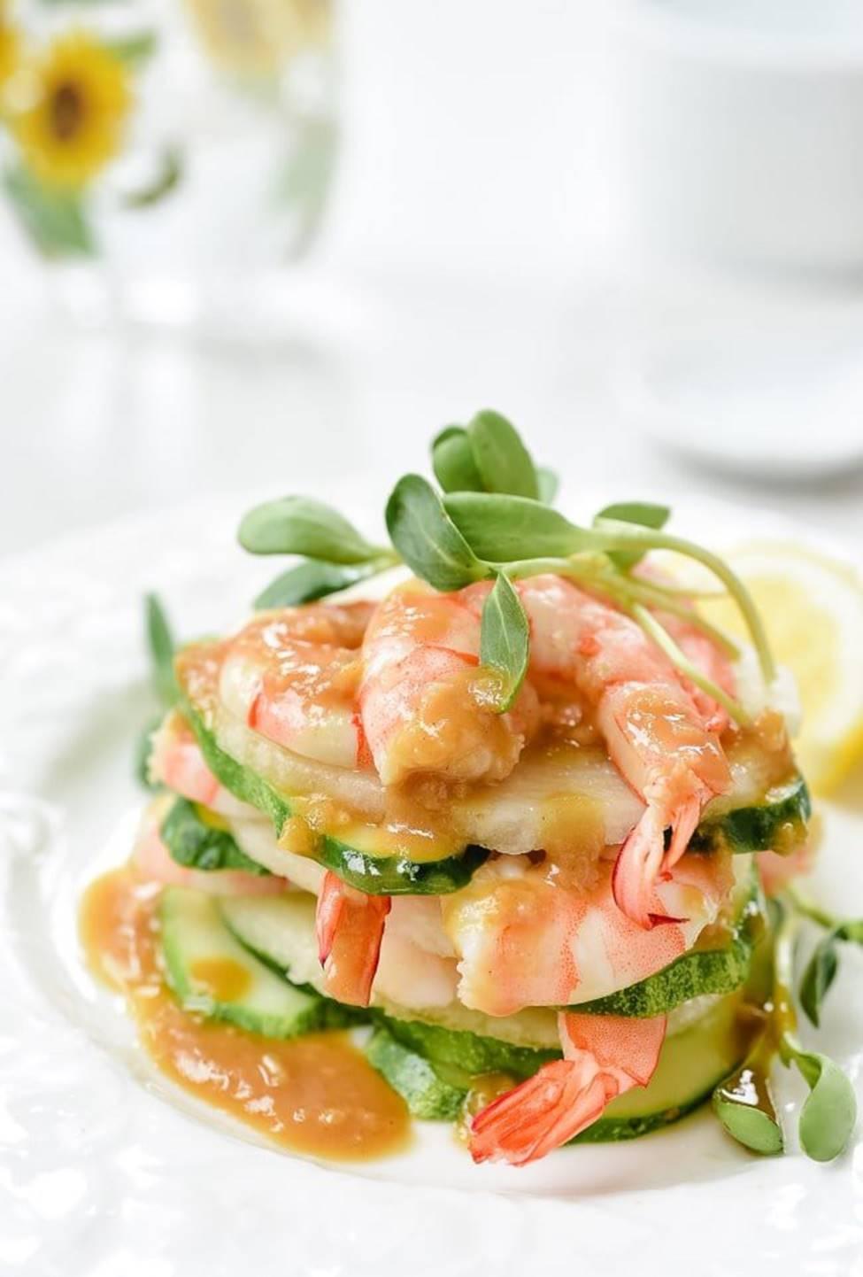 Muốn giảm cân, bạn đừng bỏ qua món salad tôm ngon tuyệt này nhé!-6