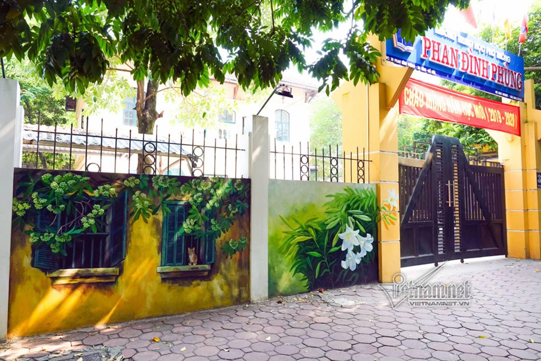 Hà Nội xưa đẹp lạ qua tranh bích họa trên phố-9