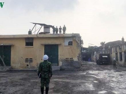 Hoàn tất quy trình tẩy độc tại Rạng Đông: Môi trường đã an toàn?