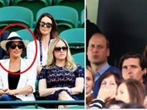 Gia đình Công nương Kate đưa nhau đi xem bóng đá, Meghan Markle