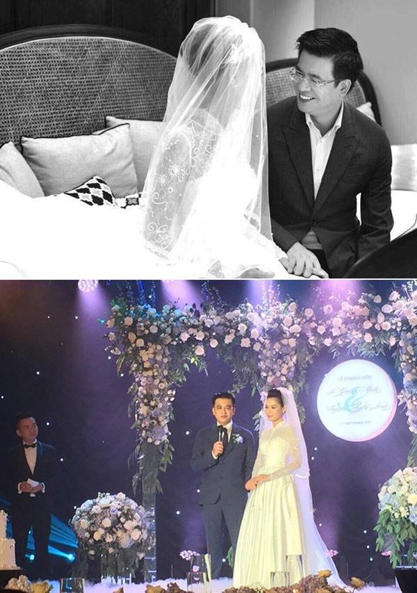 3 MC kết hôn lần 2: Vợ đều cách xa chục tuổi, đẹp không thua Hoa hậu - người mẫu-10