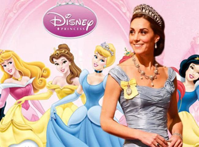 Công nương Kate nào có khác gì Công chúa Disney đời thực với 3 lần lên đồ như bước ra từ hoạt hình-1