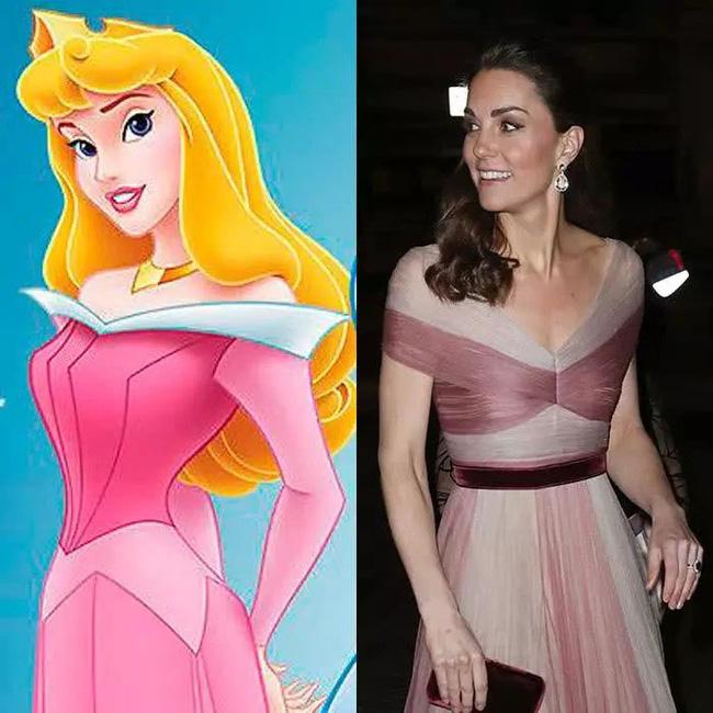 Công nương Kate nào có khác gì Công chúa Disney đời thực với 3 lần lên đồ như bước ra từ hoạt hình-4