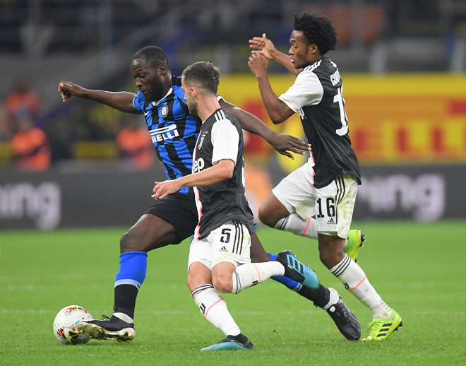 Ronaldo không gặp may trong ngày Juventus thắng Inter 2-1-2