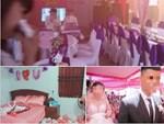 """Bức ảnh ăn hỏi gây bão"""" của đám cưới người nổi tiếng, dàn nữ bê tráp hóa ra lại toàn cực phẩm từ các cuộc thi Hoa hậu thế này-8"""