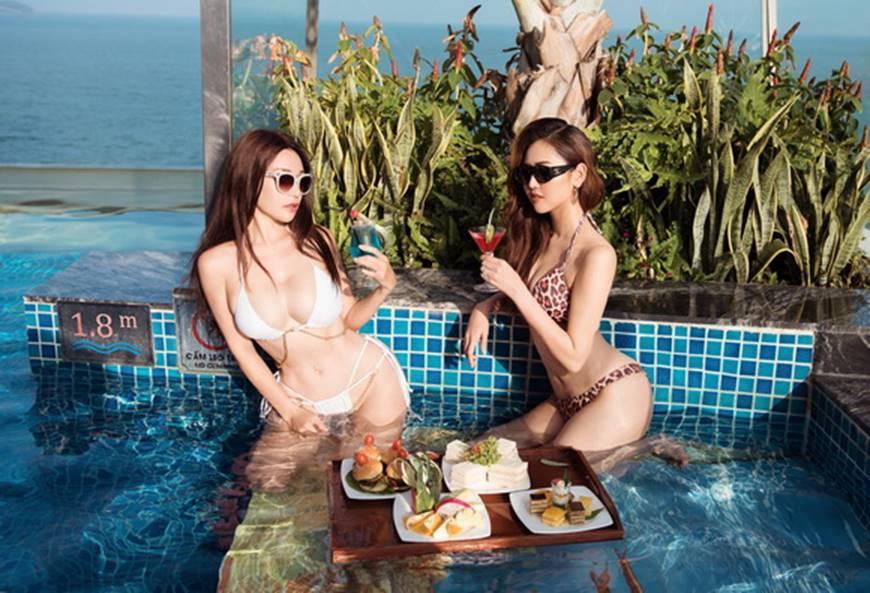 Á hậu Miss All Nations khiến khán giả bất ngờ khi lột xác gợi cảm trong bộ ảnh bikini mới-2