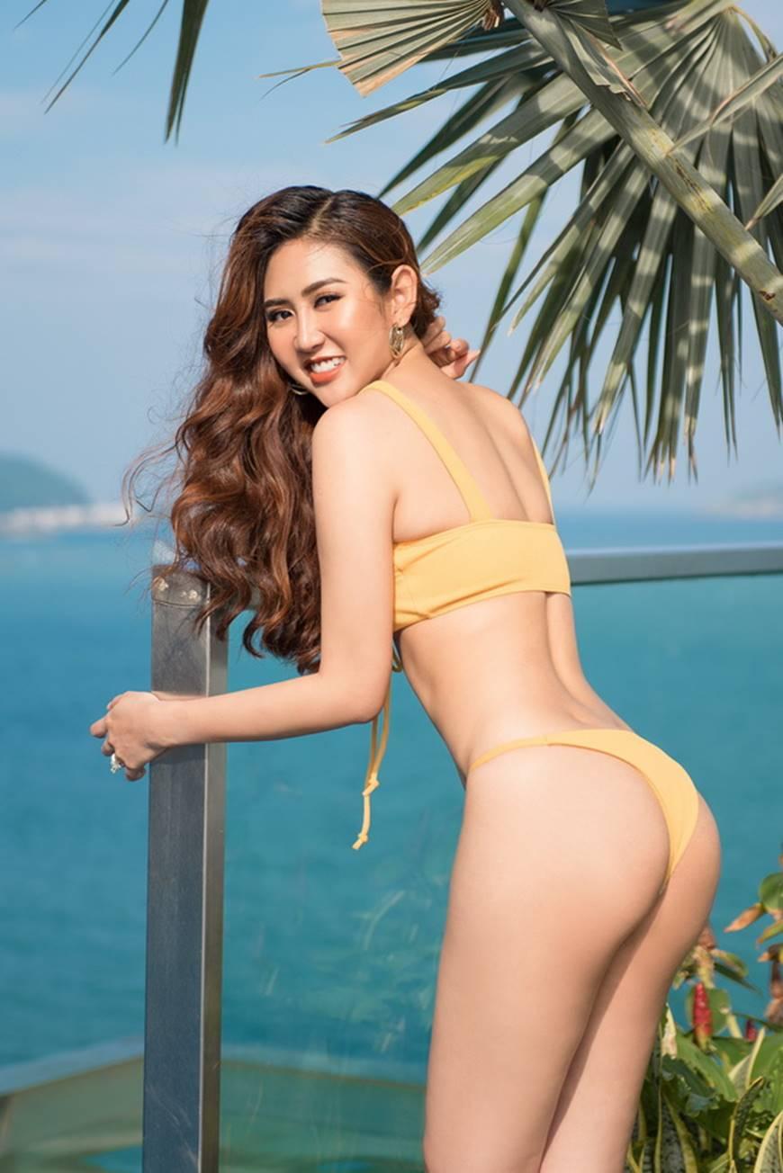 Á hậu Miss All Nations khiến khán giả bất ngờ khi lột xác gợi cảm trong bộ ảnh bikini mới-6