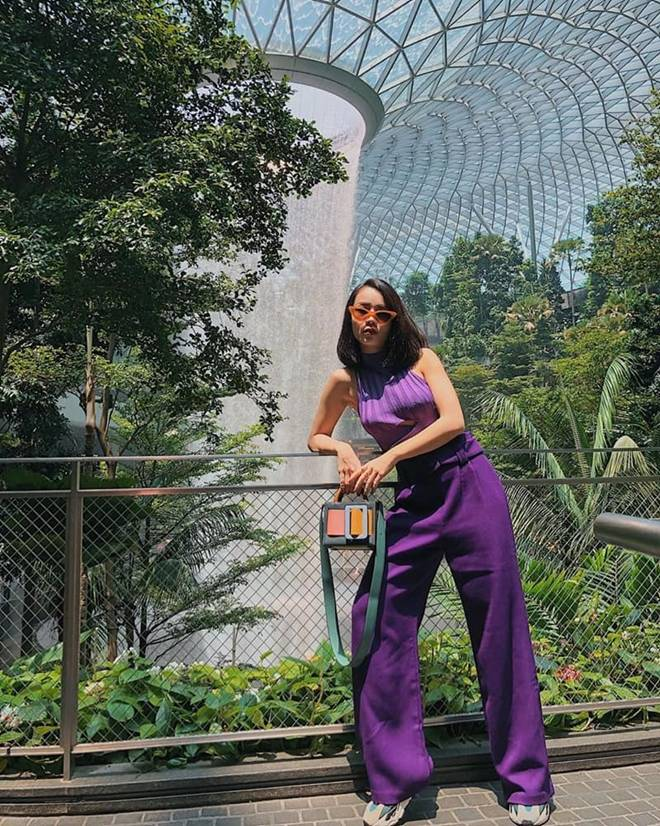 Bị coi là gam màu sến sẩm, vậy mà mỹ nhân Việt vẫn đua nhau lên đồ cùng sắc tím-5