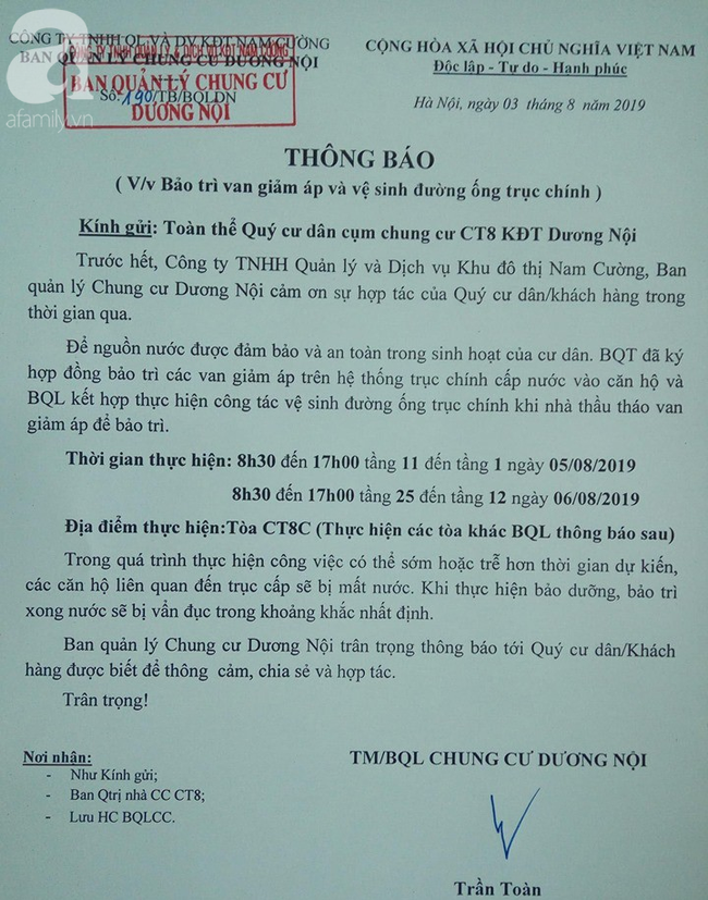 Kinh hãi nước sinh hoạt đen như cống ở chung cư Hà Nội: Người dân bị đau mắt, dị ứng không dám sử dụng-6