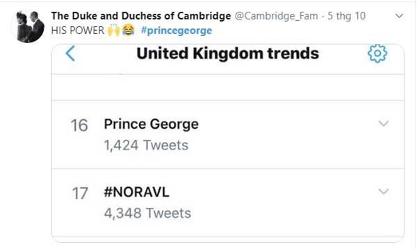 Hoàng tử George bất ngờ chiếm hết spotlight của gia đình, trở thành hiện tượng mạng bởi một loạt khoảnh khắc ấn tượng chưa từng thấy-2