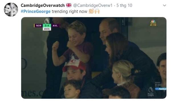 Hoàng tử George bất ngờ chiếm hết spotlight của gia đình, trở thành hiện tượng mạng bởi một loạt khoảnh khắc ấn tượng chưa từng thấy-3