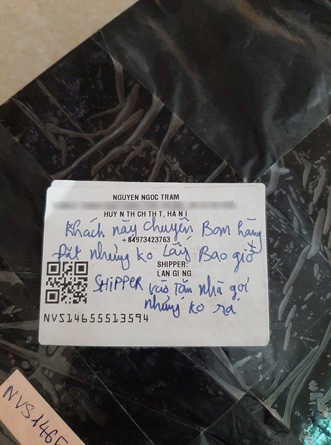 3 lần bị bùng hàng, shipper để lại dòng chữ tiết lộ về khách hàng có thói quen xấu-1