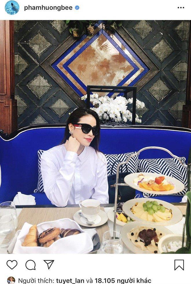 Giấu kín hôn phu đại gia, Phạm Hương sung sướng được người ấy chăm sóc, nấu món ăn đặc biệt-6