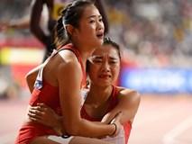 Đội tuyển điền kinh nữ Trung Quốc trình diễn