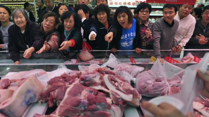 Lợn đột biến khổng lồ 700kg, giải cứu khủng hoảng Trung Quốc-1
