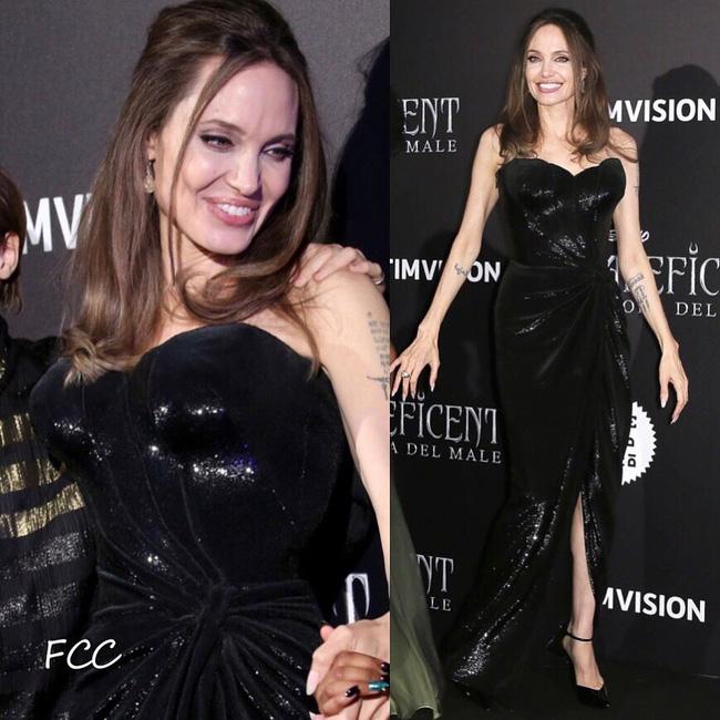 """Angelina Jolie lại chiếm spotlight với diện mạo như nữ thần Hy Lạp khi thay liền 2 bộ đồ từ khó cảm"""" đến gợi cảm-8"""
