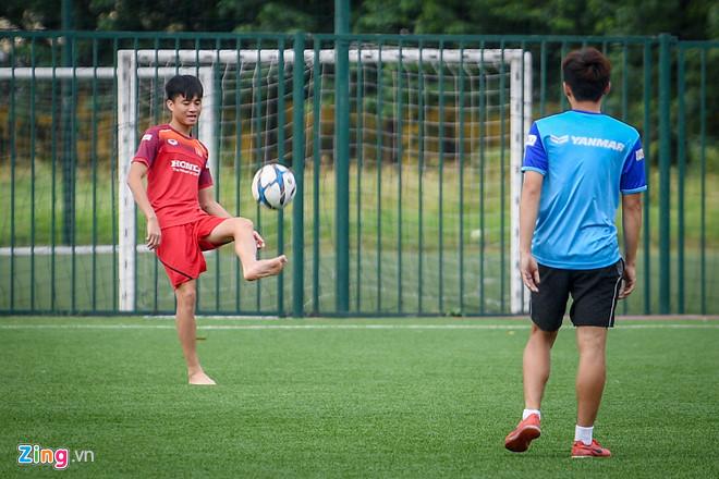 HLV Park loại Trọng Đại, Thanh Hậu trước trận gặp U22 UAE-1